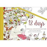 Kaisercraft 12 Days of Christmas Colour Postcard Book (20/Pack)