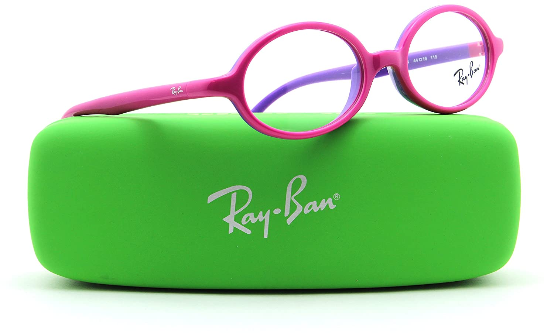 80d1dece957 Amazon.com  Ray-Ban RB1545 Oval JUNIOR Prescription Eyeglasses RX - able  3704