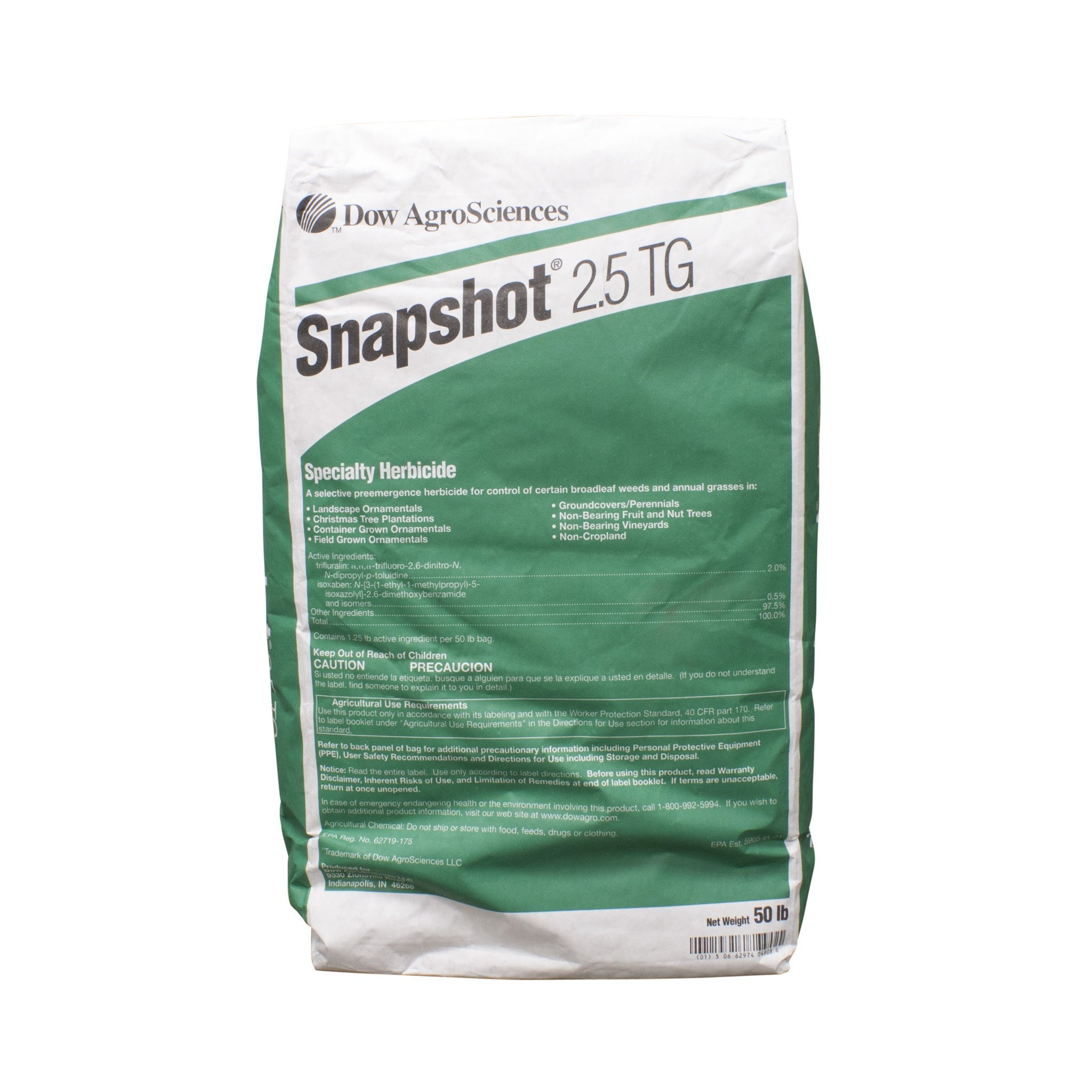 Snapshot - 50 Pound bag - Mulch Bed Weed Inhibitor by Dow