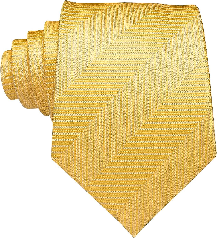gewebte Seide Einstecktuch und Manschettenkn/öpfen in schwarz-wei/ßem Punktemuster Hi-Tie Set mit Krawatte