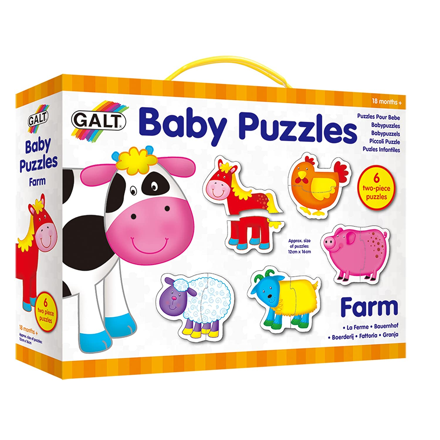 Galt Toys New Baby Puzzles Farm 1003892 Children's Puzzles Games_and_Puzzles