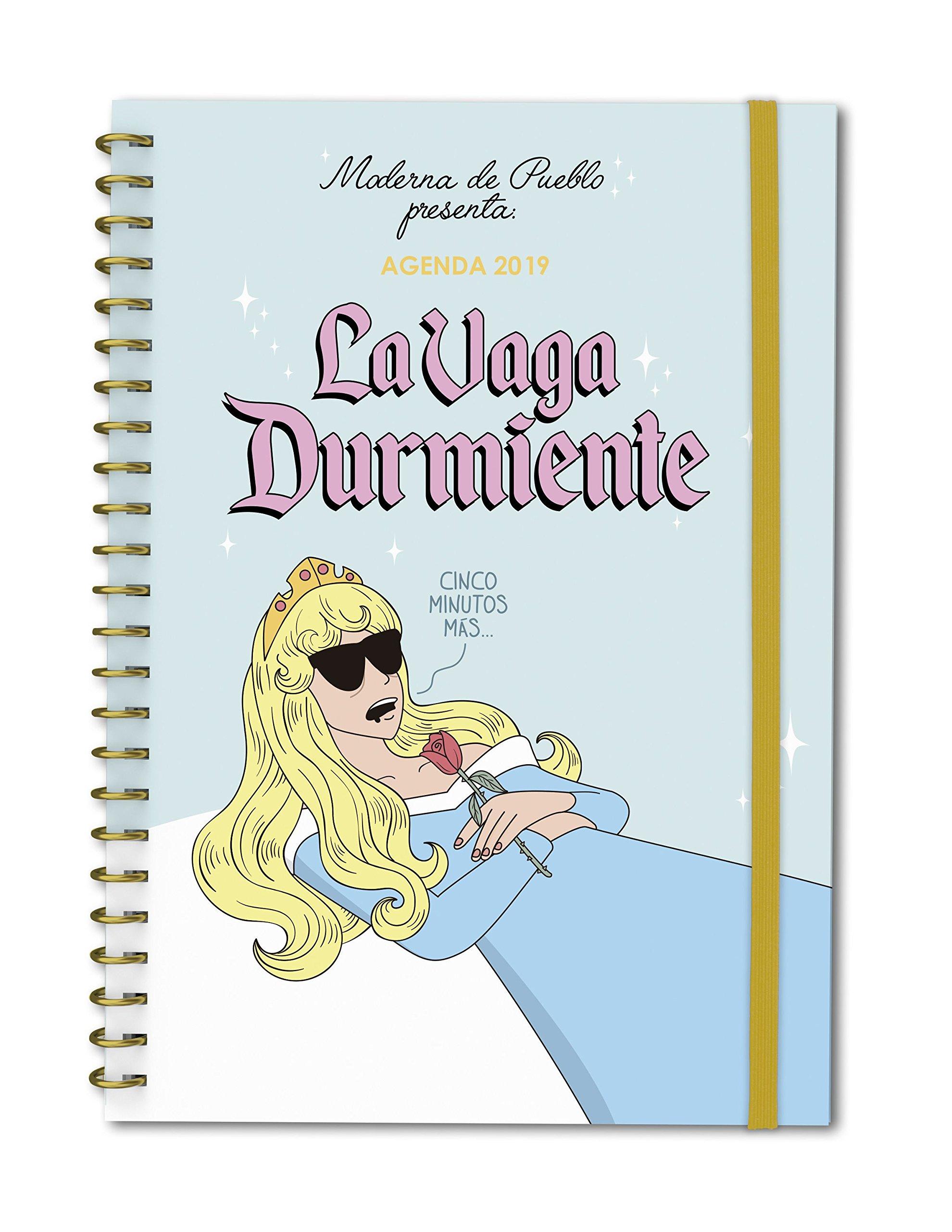 Agenda anual semana/vista Moderna de Pueblo 2019: La Vaga ...