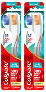Colgate Gum Health Extra Soft Bristles Toothbrush - 4 Count