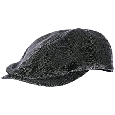 99dbdac4b8b Emporio Armani men s flat hat newsboy cap gatsby grey UK size 7 1 8  6275108A58321744
