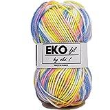 UTE - Pelote de laine à tricoter Eko fil color - OKE ! - Multicolore 301