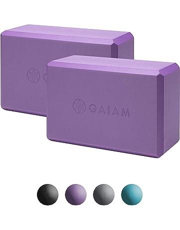 Gaiam Essentials Yoga Block (Set of 2) - Supportive Latex-Free EVA Foam 1975b5a1af