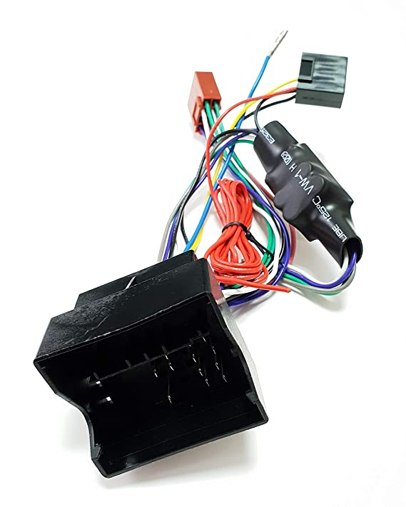 Quadlock Aktivsystemadapter für Audi A3 A4 TT auf ISO 16-Pin