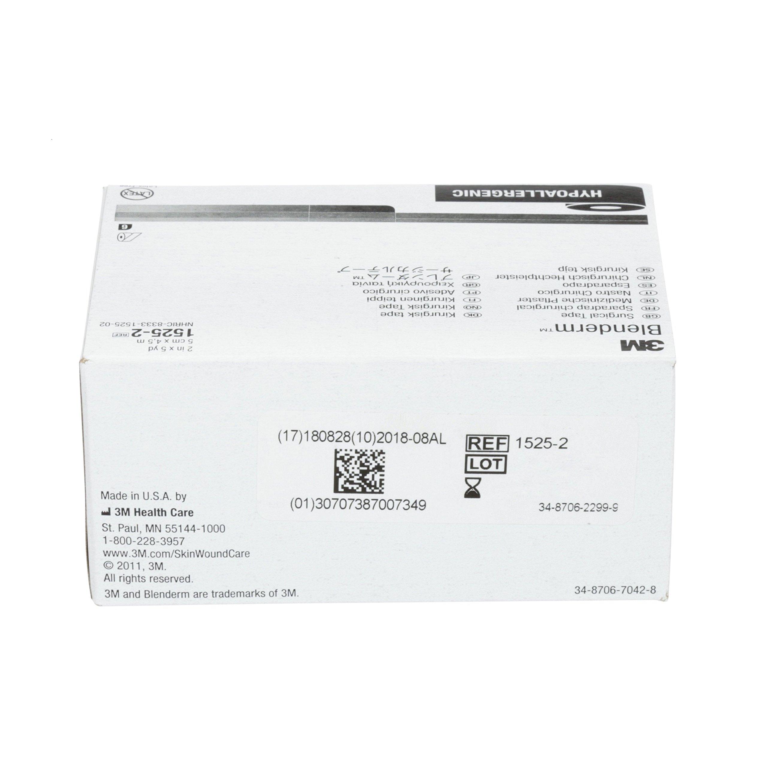3M 1525-2 Blenderm Tape (Pack of 6)