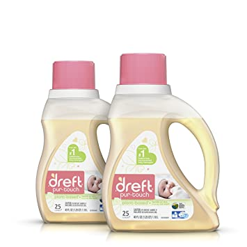 Amazon dreft purtouch baby liquid he laundry detergent dreft purtouch baby liquid he laundry detergent hypoallergenic and plant based 80 oz solutioingenieria Image collections