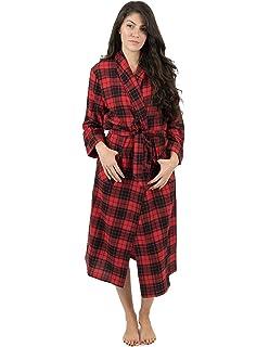 Latuza Women s Cotton Flannel Robe at Amazon Women s Clothing store  8870f58abb