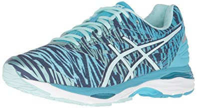 ASICS Women's Gel-Cumulus 18 BR Running Shoe, Soothing Sea/Indigo Blue/
