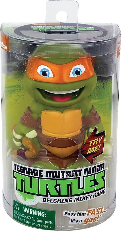 Amazon Com Teenage Mutant Ninja Turtles Belching Mikey Toys