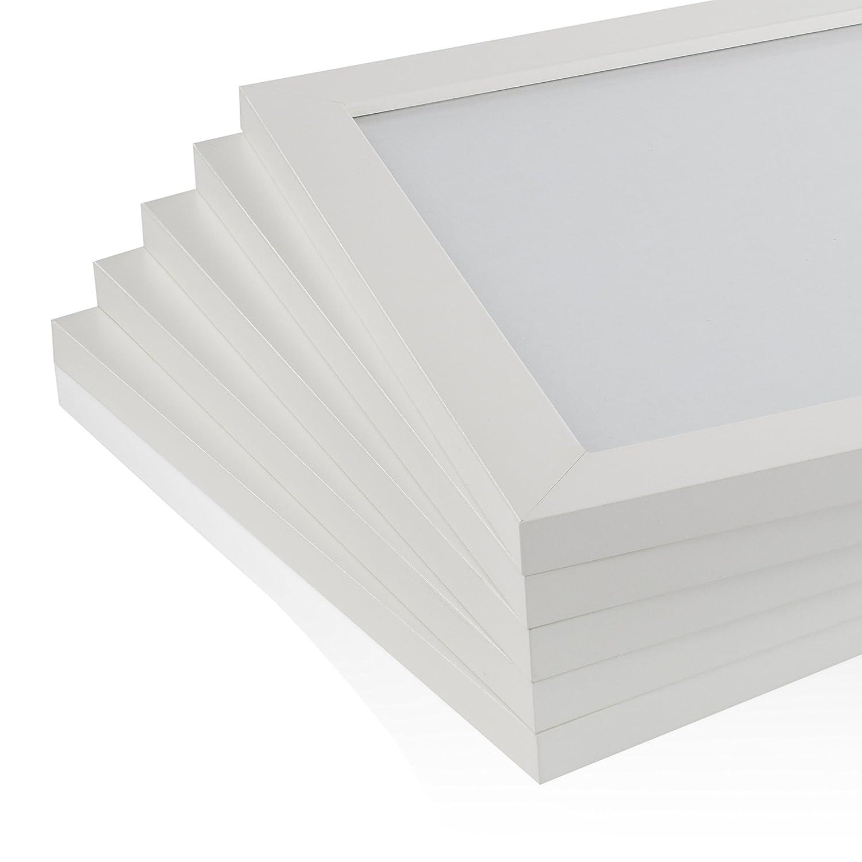 Marco de fotos blanco de la gama Rubia para casa y oficina, amplia ...