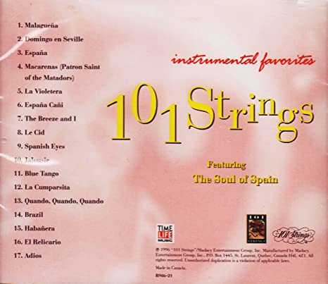 Various - 101 Strings: Instrumental Favorites - Amazon com Music