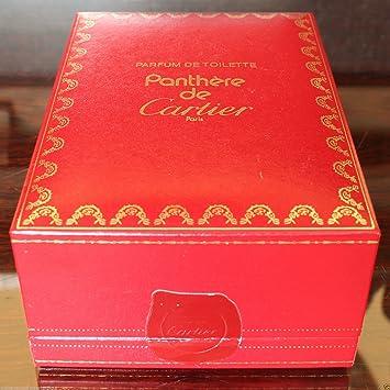 Panthere De Cartier Parfum De Toilette 50 Ml Vintage En Boîte