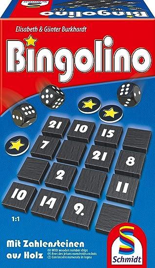Schmidt Spiele 49347 Bingolino - Juego de Mesa (en alemán): Amazon.es: Juguetes y juegos