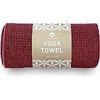 Lotuscrafts yoga handdukar Wet Grip - halksäkra och snabbtorkande - halksäkra yogahanddukar som ger ett starkt grepp mot…