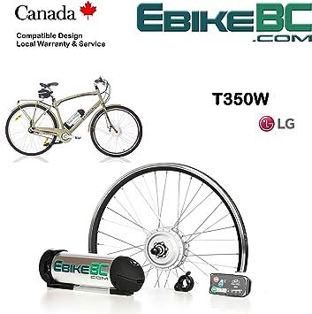 Ebike Kit 350/500W Kit de conversión completa de bicicleta ...