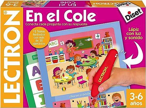 Oferta amazon: Diset- Lectron en el cole - Juego educativo a partir de 3 años