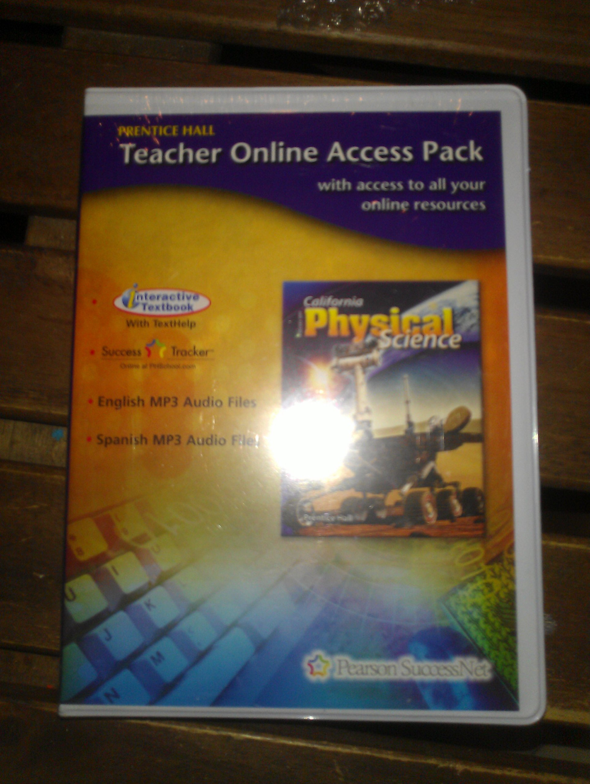 Download Focus on Physical Science CA. Teachers Online Access Pack pdf epub