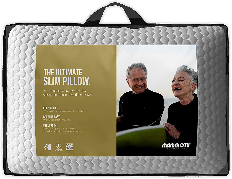 MAMMOTH SuperSoft Slim Pillow: Amazon