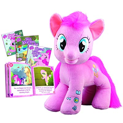 My Little Pony Pinkie Pie Animated Storyteller (Books included may vary): Toys & Games