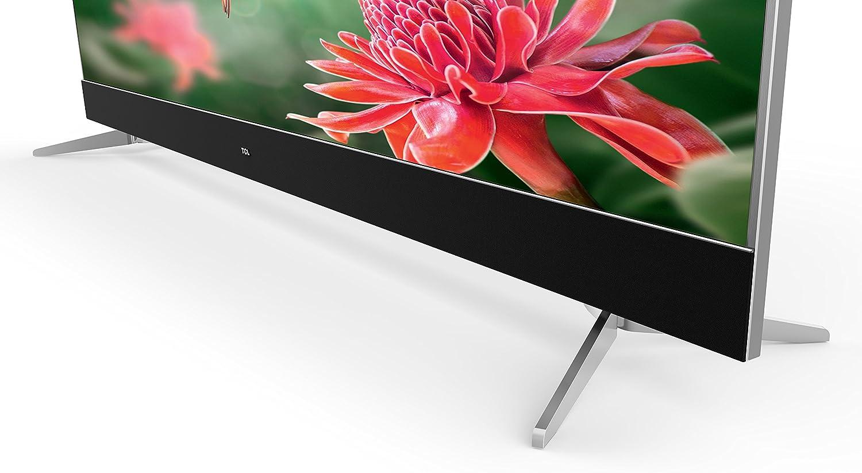 TCL U49C7006 - Televisor de 49 pulgadas, Smart TV con 4K UHD, HDR Premium, Wide Color Gamut, Android TV y JBL by HARMAN, Aluminio Cepillado: Amazon.es: Electrónica