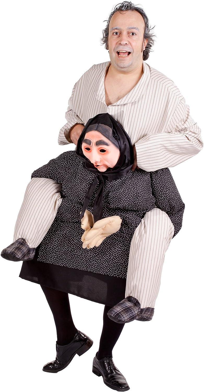 Nines dOnil Export - Disfraz de abuelo quejica para adultos ...
