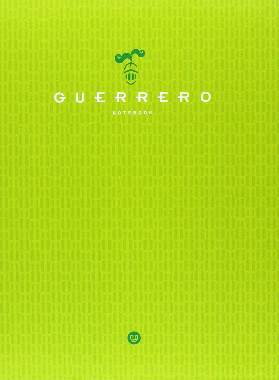 Guerrero 845017 Quaderno Microforato, 120 Fogli, Griglia 5, Verde