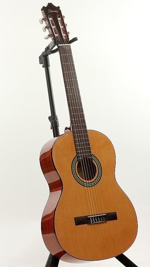 Ibanez - Guitarra clásica de 6 cuerdas, derecha, natural (GA3 ...
