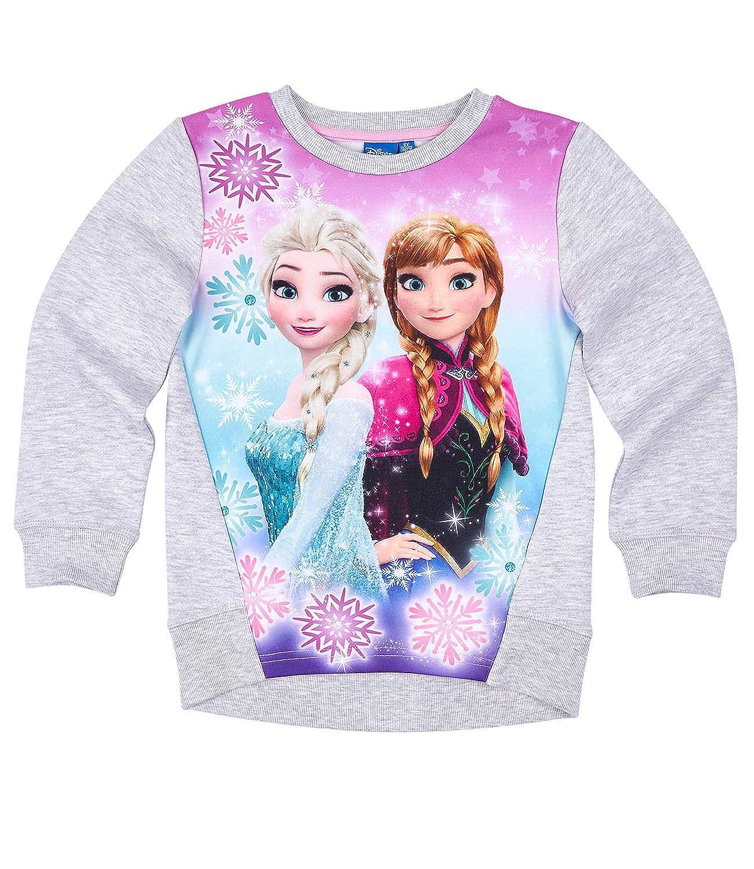 Disney Frozen - Il regno di ghiaccio Ragazze Felpa - grigio