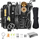Survival Gear and Equipment,Survival kit 30 in 1,Cool Camping Hiking Hunting Fishing Gifts for Men dad Husband Father boy Fri