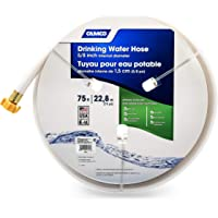 """Camco TastePURE 75ft Drinking Water Hose - Lead and BPA Free - Reinforced for Maximum Kink Resistance - Features a 5/8"""" Inner Diameter (21008)"""