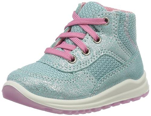 SuperfitMel - Botines de Senderismo Bebé-Niños, Color Turquesa, Talla 25: Amazon.es: Zapatos y complementos