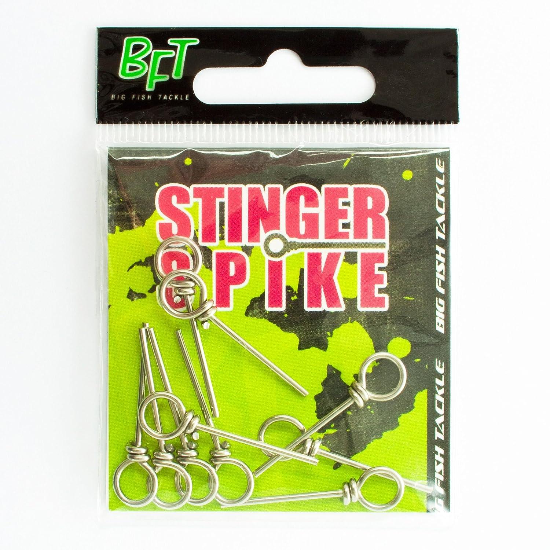9 Stinger Stifte für Gummiköder Spro Softbait Pin Assorti Spike für Drillinge