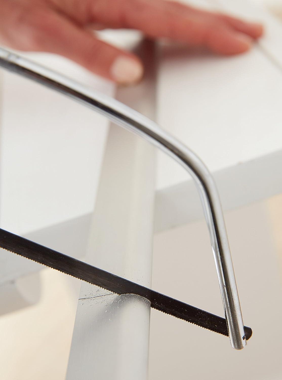 color blanco 1 m x 40 mm TESA 05405-00100-00 Barra bajo puerta de aluminio No aplica