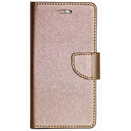 size 40 ec4a4 2d135 Zaoma Diary Type Flip Cover for Xolo Era 4G - Rose Gold