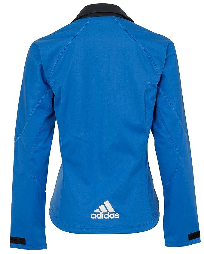 adidas Softshell Damen SkiWanderOutdoor Sport Jacke, Blau