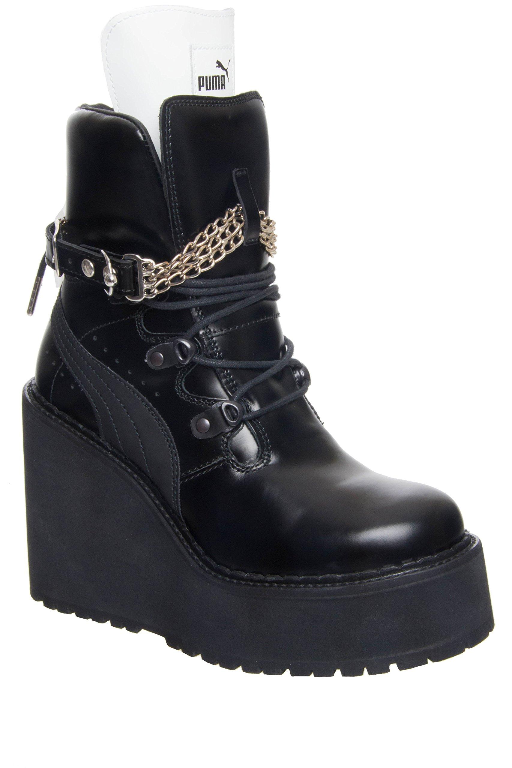 Puma Fenty x Rihanna Sneaker Boot Wedge - Black - Size 5.5