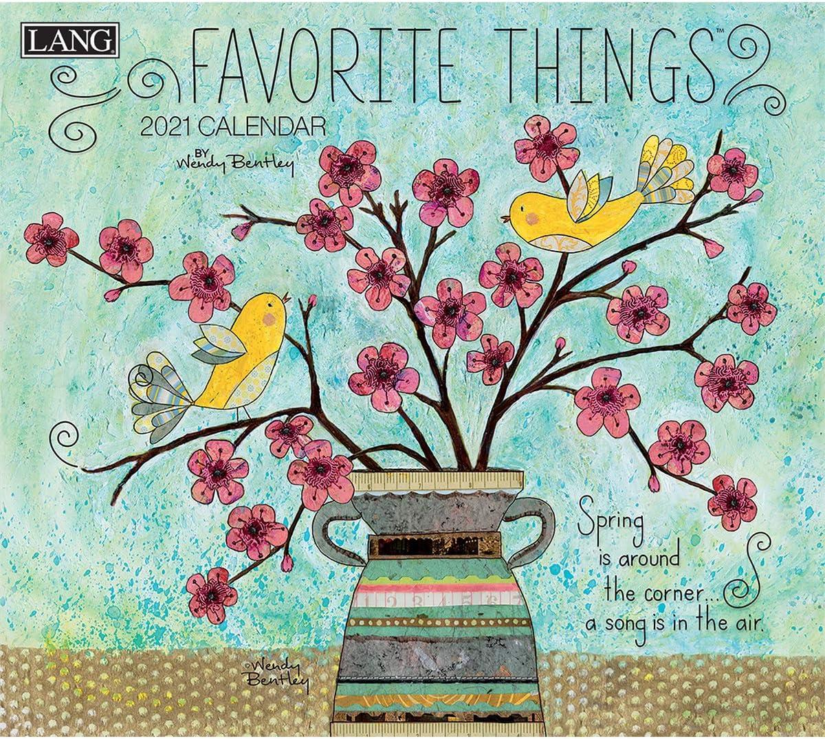 Lang Favorite Things 2021 Wall Calendar (21991001857): Amazon.ca