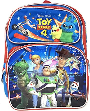 Disney Toy Story 4 Small 12 inches Backpack Rescue Squad