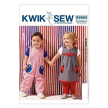 KWIK-SEW PATTERNS Kwik Sew Mustern K3983 Größe T1 – T2 – T3 – T4 ...