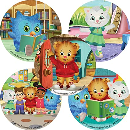 Daniel Tiger's Neighborhood Stickers - Prizes and Giveaways - 100 per Pack