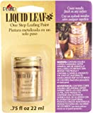 Liquid Leaf Paint One Step Leafing Paint, 0.75-Ounce, Original (Bright (Classic) Gold)