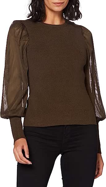 Only Onleylene L/S Pullover Knt Suéter para Mujer