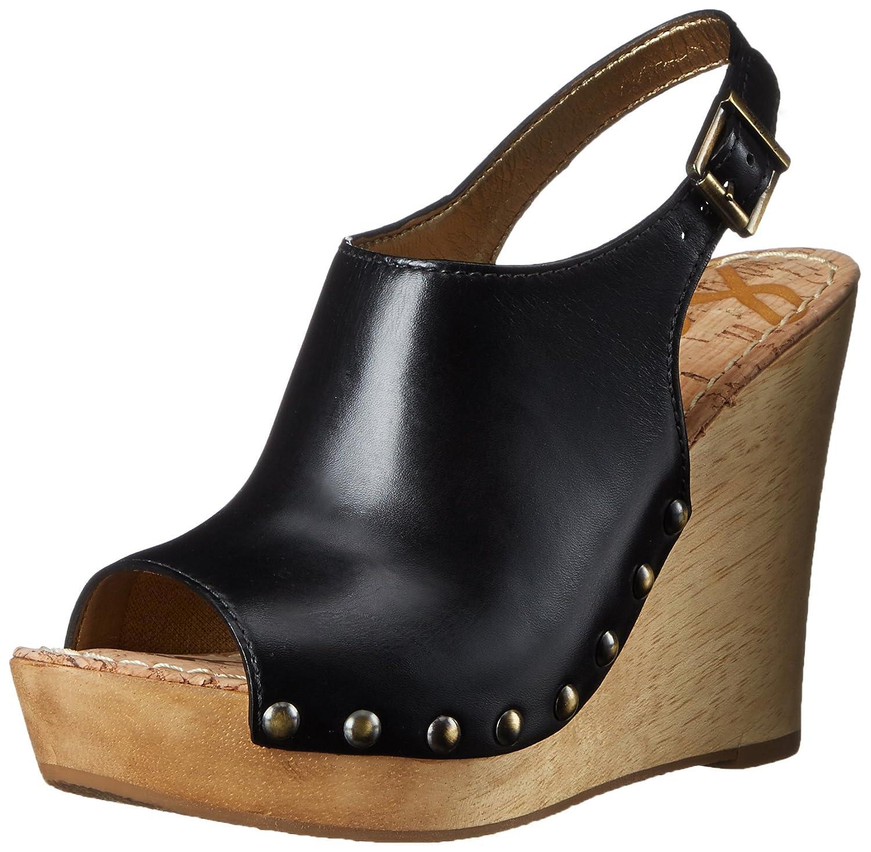 Sam Edelman Women's Camilla Wedge Sandal B015GIU47Y 6 B(M) US|Black
