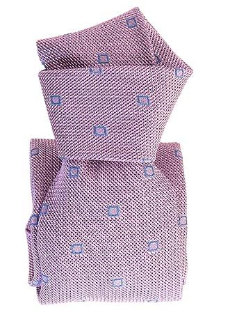 Elizabetta - Corbata de seda italiana para hombre (extra larga ...