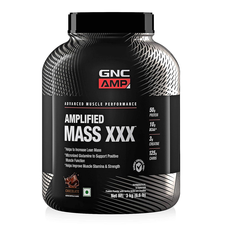 GNC AMP Amplified Mass XXX Review