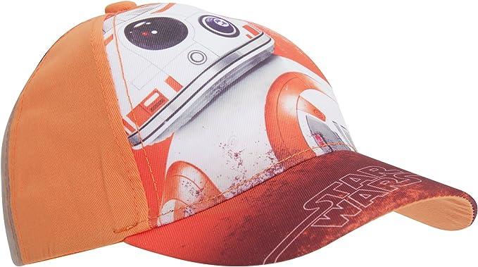 Star Wars Disney Gorra con diseño de Disney BB-8 (54cm) (Naranja ...