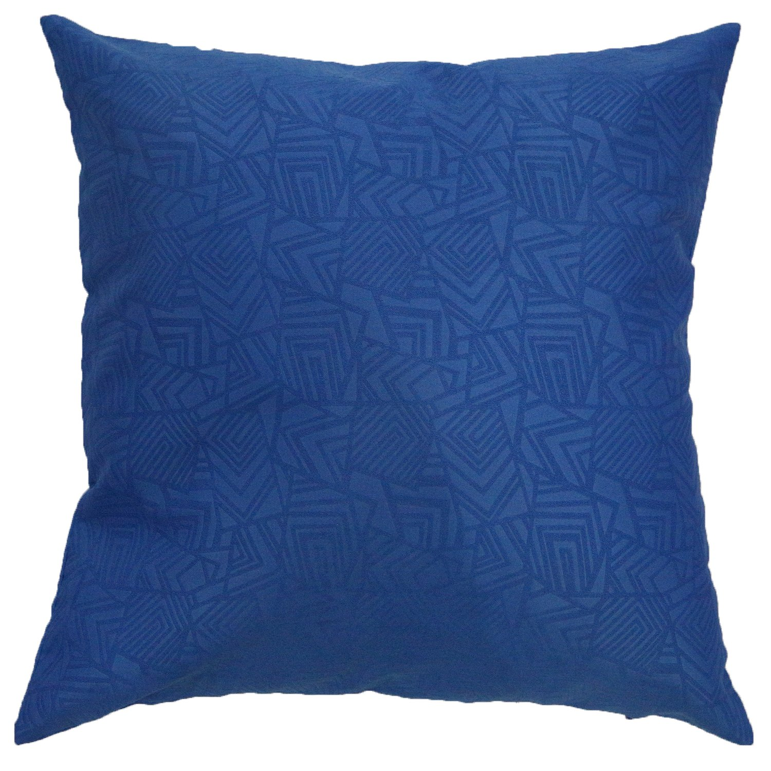 Deconovo Faux Suede Embossed Geometric Decorative Square Throw Pillow Case Cushion Cover with Lining for Chair CS24270